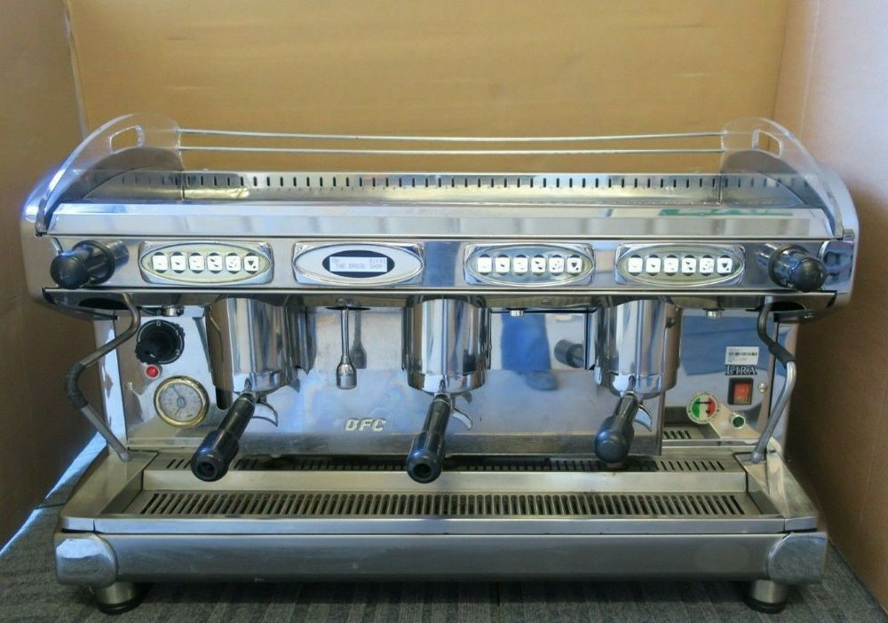 BFC Lira 3 Group Automatic Commercial Espresso Professional Coffee 5500w Machine